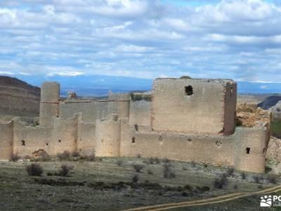 Cañón Caracena; Encina  Valderromán; guia senderismo revistas de senderismo rutas de senderismo e
